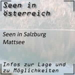 Mattsee in Salzburg