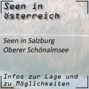 Oberer Schönalmsee im Lungau Salzburg