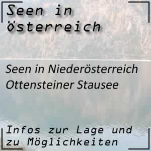 Ottensteiner Stausee im Waldviertel Niederösterreich