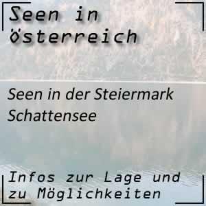 Schattensee beim Prebersee Steiermark
