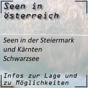 Schwarzsee auf der Turracher Höhe