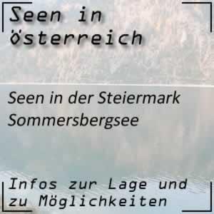 Sommersbergsee Bad Aussee Steiermark