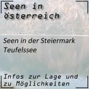 Teufelssee im Hochschwabmassiv Steiermark