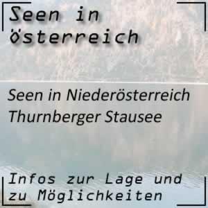 Thurnberger Stausee Kamptal Niederösterreich