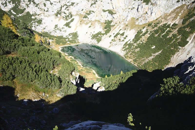 Silberkarsee im Dachsteingebiet Steiermark