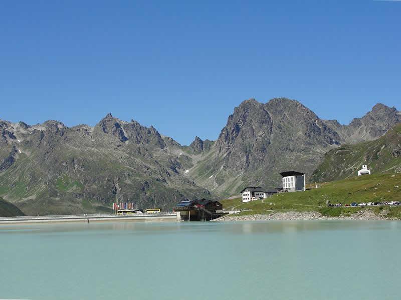 Silvretta Stausee in Vorarlberg