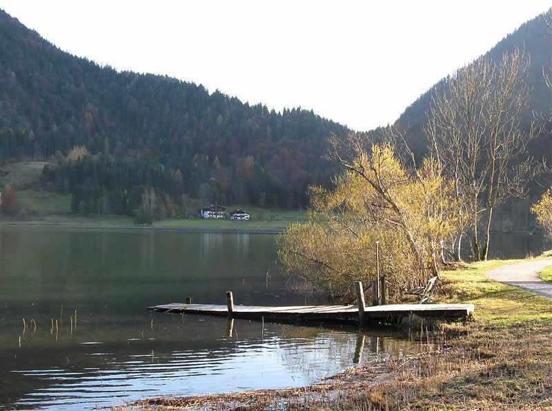 Thiersee bei Kufstein in Tirol