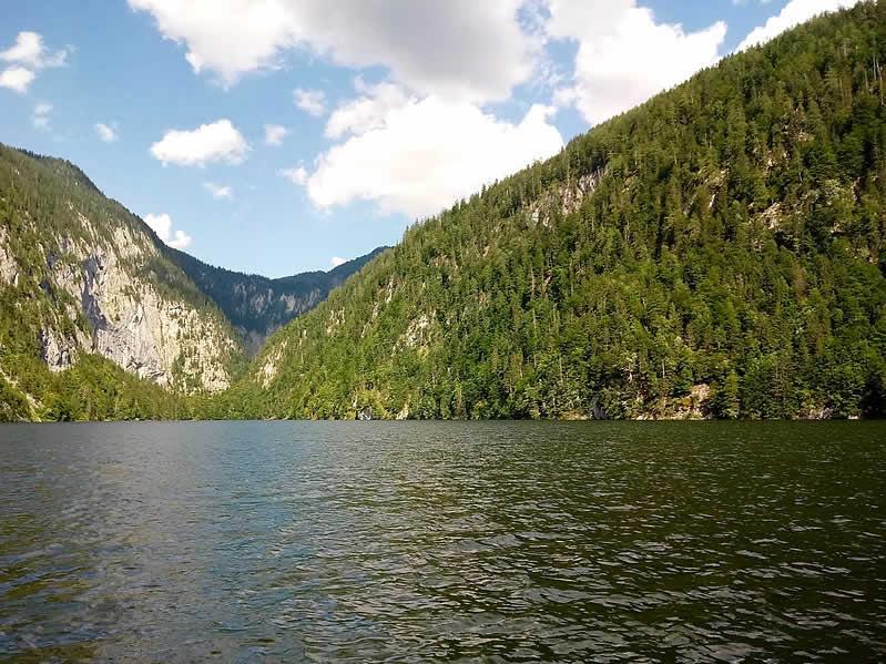 Toplitzsee in der Steiermark