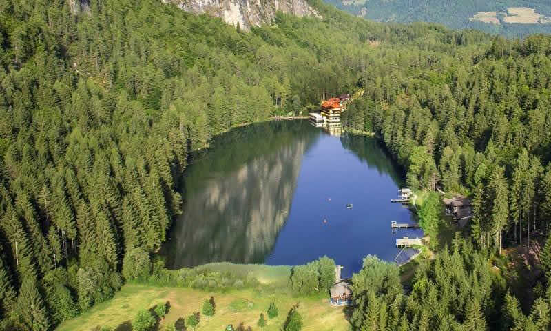 Tristacher See bei Lienz Osttirol