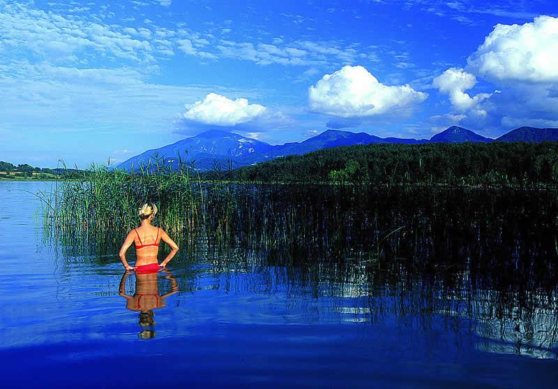 Turnersee beim Klopeiner See Kärnten