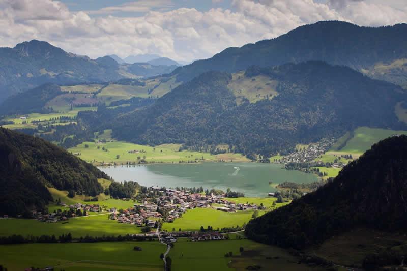 Walchsee bei Kufstein in Tirol