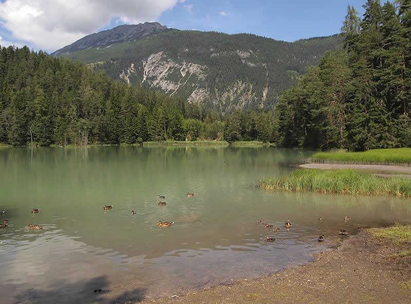 Weißensee beim Fernpass in Tirol