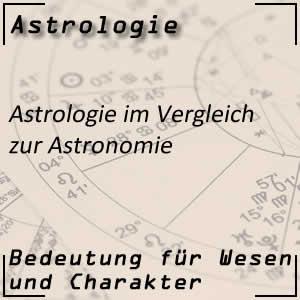 Astrologie und der Unterschied zur Astronomie