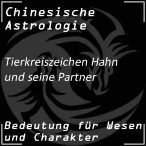 Tierkreiszeichen Hahn Partner