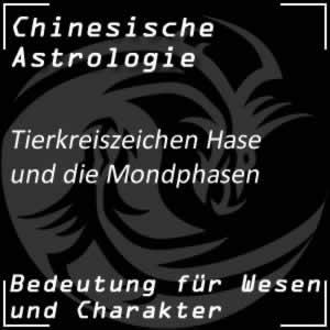 Tierkreiszeichen Hase Mondphasen