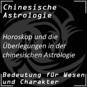 Chinesische Astrologie Horoskop