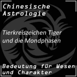 Tierkreiszeichen Tiger Mondphasen