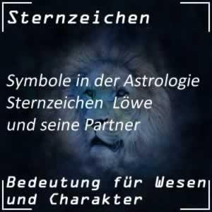 Sternzeichen Löwe und Partner