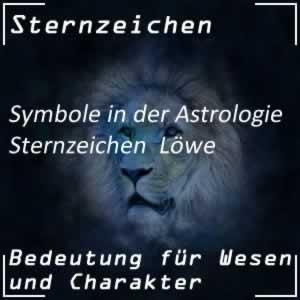 Astrologie Sternzeichen Löwe