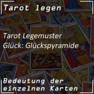 Tarot Glück Glückspyramide