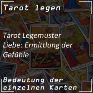 Tarot Liebe: Ermittlung der Gefühle