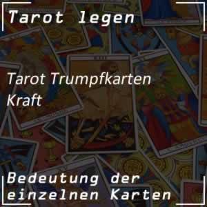 Tarotkarte Die Kraft