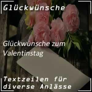 Glückwunsch Valentinstag