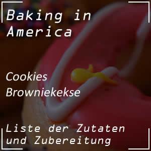 Rezept für Browniekekse oder Brownie Cookies