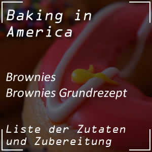 Rezept für klassische Brownies