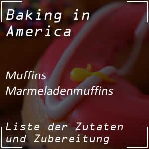 Rezept für Marmeladenmuffins