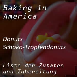 Rezept für Schoko-Tropfendonuts