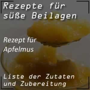 Rezept für Apfelmus