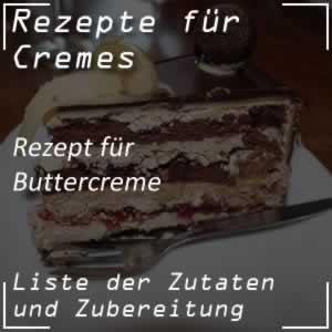 Rezept für Buttercreme