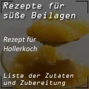 Rezept für Hollerkoch