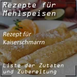 Rezept Kaiserschmarrn