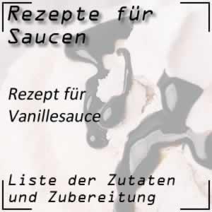 Rezept für Vanillesauce