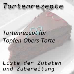 Tortenrezepte Topfen-Obers-Torte zubereiten