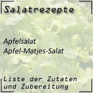 Salatrezept Apfelsalat Matjes