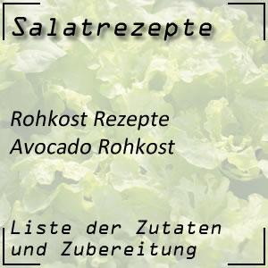 Rohkost Rezept Avocadorohkost Honigmelone