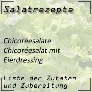Salatrezept Chicoréesalat Eierdressing