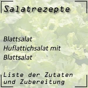 Salatrezept Blattsalat Huflattichsalat