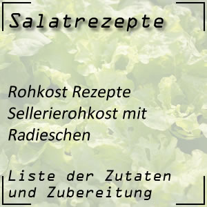 Rohkost Rezept Sellerierohkost Radieschen