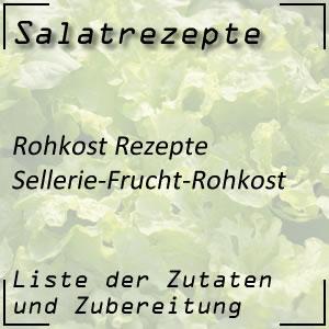 Selleriesalat Früchte