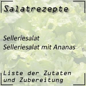 Selleriesalat Ananas