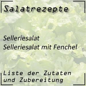 Salat Rezept Selleriesalat Fenchel