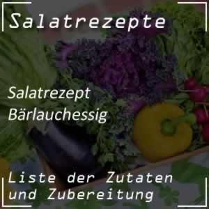 Rezept für Bärlauchessig