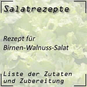 Salat Rezept Birnen-Walnuss-Salat