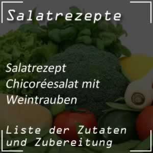 Chicoréesalat mit Weintrauben