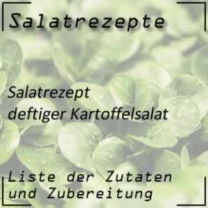 Kartoffelsalat, deftig