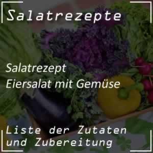 Eiersalat mit Gemüse